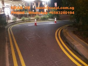 road surface marking contractor